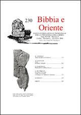 bibbia e oriente