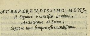 n. 5 dedicatoria