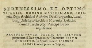 n. 6 dedicatoria