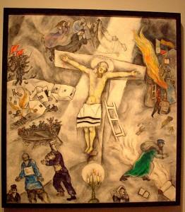 n. 1 White_crucifixion chagall