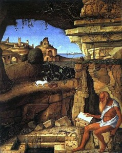 n. 3 Giovanni_Bellini_St_Jerome_Reading_in_the_Countryside